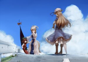 Rating: Safe Score: 17 Tags: animal_ears chen junwool nekomimi tail touhou yakumo_ran yakumo_yukari User: Mr_GT