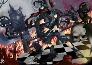 Rating: Safe Score: 16 Tags: black_rock_shooter kagamine_len kagamine_rin realmbw vocaloid User: charunetra