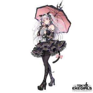 Rating: Safe Score: 168 Tags: animal_ears gothic_lolita harajuku_mimi heels lolita_fashion nekomimi pantyhose see_through shimashima08123 tail tokyo_exe_girls umbrella User: john.doe