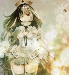 Rating: Safe Score: 21 Tags: duca eyepatch nurse thighhighs User: Nekotsúh
