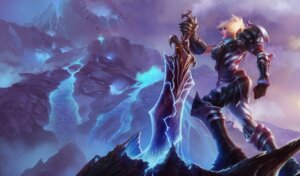 Rating: Safe Score: 9 Tags: armor league_of_legends riven_(league_of_legends) sword tagme User: Radioactive