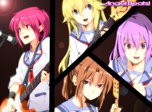 Rating: Safe Score: 7 Tags: angel_beats! guitar hisako irie_(angel_beats!) iwasawa n_i_n_o seifuku sekine User: Radioactive