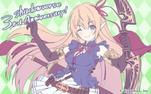 Rating: Safe Score: 21 Tags: arisa_(shadowverse) cygames pointy_ears princess_connect princess_connect!_re:dive shadowverse sword tagme wallpaper weapon User: sorafans