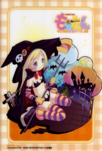 Rating: Safe Score: 13 Tags: bikini card halloween moetan pop shiratori_alice swimsuits thighhighs witch User: admin2