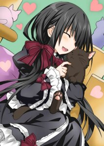Rating: Safe Score: 60 Tags: date_a_live dress neko tagme tokisaki_kurumi tsunako User: kiyoe