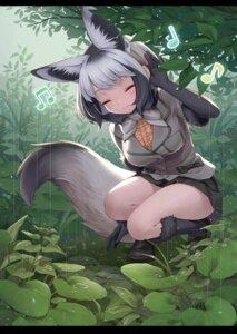 Rating: Safe Score: 15 Tags: animal_ears bat-eared_fox_(kemono_friends) kemono_friends kitsune ne-on skirt_lift tail User: dick_dickinson