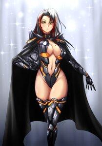 Rating: Questionable Score: 21 Tags: armor cleavage fate/grand_order genderswap leotard lolita_majin no_bra odysseus_(fate/grand_order) thighhighs User: Genex