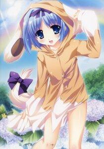 Rating: Safe Score: 21 Tags: animal_ears katagiri_hinata kujou_yuuka magus_tale pajama tail User: admin2