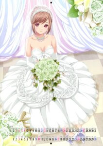 Rating: Safe Score: 67 Tags: calendar cleavage crease dress fixme koutaro nijiiro_zakura wedding_dress User: fireattack