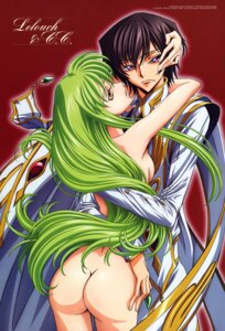 Rating: Questionable Score: 55 Tags: ass c.c. code_geass lelouch_lamperouge nakatani_seiichi naked User: Aurelia
