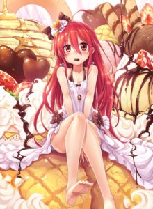 Rating: Safe Score: 146 Tags: cleavage cream dress feet ks shakugan_no_shana shana User: blooregardo