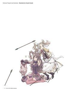 Rating: Questionable Score: 3 Tags: armor cleavage dress duplicate fire_emblem fire_emblem_kakusei kozaki_yuusuke liz_(fire_emblem) lolita_fashion nintendo stockings sumia thighhighs User: Radioactive