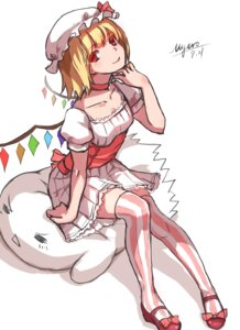 Rating: Safe Score: 23 Tags: dress flandre_scarlet myero thighhighs touhou wings User: zero|fade