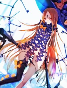 Rating: Questionable Score: 24 Tags: abigail_williams_(fate/grand_order) dyolf fate/grand_order loli pantsu panty_pull thighhighs topless witch User: BattlequeenYume