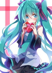Rating: Safe Score: 14 Tags: aosaki_yato hatsune_miku valentine vocaloid User: charunetra