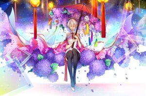 Rating: Safe Score: 27 Tags: heels kingchenxi thighhighs umbrella vocaloid yanhe User: Mr_GT