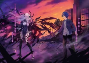 Rating: Questionable Score: 22 Tags: date_a_live itsuka_shidou tagme tsunako User: kiyoe