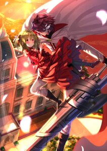 Rating: Safe Score: 31 Tags: dress hanabusa_youtarou kidouin_makio lance_n'_masques pantyhose swordsouls weapon User: Mr_GT