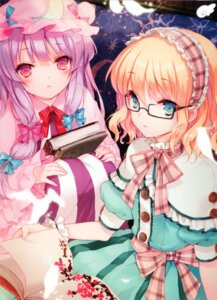 Rating: Safe Score: 67 Tags: alice_margatroid cuteg megane patchouli_knowledge touhou User: yong