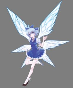 Rating: Safe Score: 16 Tags: cirno tomizawa_jun touhou transparent_png wings User: Mr_GT