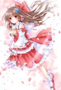 Rating: Safe Score: 31 Tags: dress hakurei_reimu miko nogi_takayoshi touhou User: ddns001