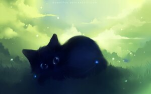 Rating: Safe Score: 30 Tags: apofiss neko wallpaper User: itsu-chan