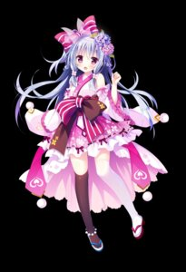 Rating: Safe Score: 42 Tags: japanese_clothes shiromochi_sakura thighhighs User: zyll