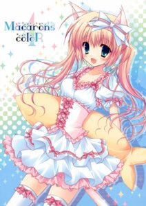 Rating: Safe Score: 54 Tags: animal_ears cascade hasekura_chiaki lolita_fashion nekomimi thighhighs User: syaoran-kun