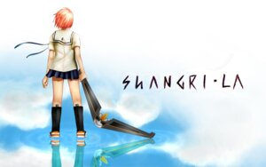 Rating: Safe Score: 10 Tags: houjou_kuniko shangri-la tom wallpaper User: charunetra