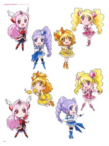 Rating: Safe Score: 2 Tags: chibi dress fresh_pretty_cure! heels pantyhose pretty_cure thighhighs User: drop