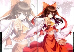 Rating: Safe Score: 22 Tags: an2a binding_discoloration crease hakurei_reimu touhou wind_mail User: fireattack