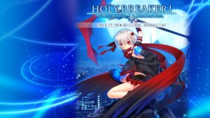 Rating: Safe Score: 16 Tags: hinoue_itaru holy_breaker tenma_minase thighhighs weapon User: L5Accelerator