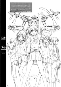 Rating: Safe Score: 6 Tags: 5_nenme_no_houkago eyepatch kantoku mecha monochrome pointy_ears seifuku sketch thighhighs User: Hatsukoi