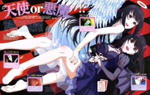 Rating: Questionable Score: 26 Tags: angel devil dress horns jabami_yumeko kakegurui okamoto_tatsuaki see_through wings User: drop