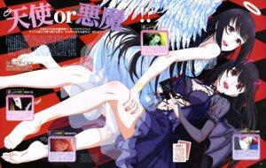 Rating: Questionable Score: 28 Tags: angel devil dress horns jabami_yumeko kakegurui okamoto_tatsuaki see_through wings User: drop