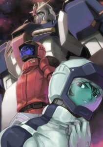 Rating: Safe Score: 5 Tags: char_aznable gundam kamille_bidan male mecha mikazuki_akira tri-moon! zeta_gundam User: Feito