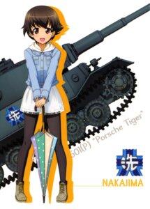 Rating: Safe Score: 8 Tags: girls_und_panzer nakajima_satoko pantyhose tagme umbrella User: drop