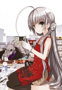 Rating: Safe Score: 42 Tags: dress haiyore!_nyaruko-san koin nyaruko pantyhose shantak-kun User: Radioactive