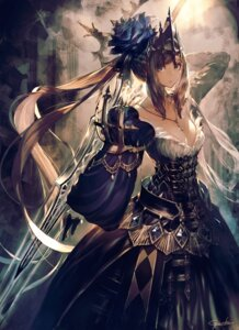 Rating: Safe Score: 56 Tags: armor cleavage dress garuku sword User: Mr_GT