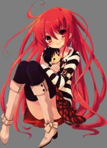 Rating: Safe Score: 48 Tags: ito_noizi shakugan_no_shana shana thighhighs transparent_png User: yueshana314