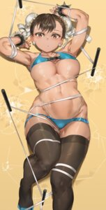 Rating: Questionable Score: 66 Tags: bikini bondage chun_li street_fighter swimsuits thighhighs underboob yohan1754 User: Mr_GT