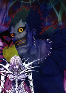 Rating: Safe Score: 5 Tags: death_note monster obata_takeshi rem ryuk User: Radioactive