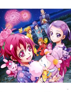 Rating: Questionable Score: 3 Tags: dokidoki!_precure pretty_cure yukata User: drop