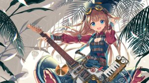 Rating: Safe Score: 61 Tags: cleavage dress guitar kurobuta_gekkan wallpaper User: Mr_GT