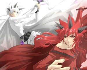 Rating: Safe Score: 3 Tags: akai_kiri chona final_fantasy_unlimited male shiroi_kumo wallpaper User: kikiyo