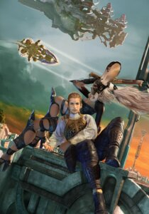 Rating: Safe Score: 6 Tags: balthier final_fantasy final_fantasy_xii fran User: majoria