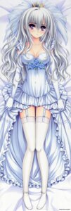 Rating: Safe Score: 85 Tags: caramel-box cleavage dakimakura dress fixed genderswap kisakinomiya_chihaya norita otome_wa_boku_ni_koi_shiteru otome_wa_boku_ni_koi_shiteru_2 stockings thighhighs trap wedding_dress User: DDD