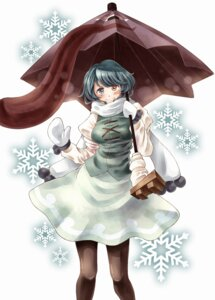 Rating: Safe Score: 5 Tags: heterochromia namuko pantyhose tatara_kogasa touhou User: Mr_GT