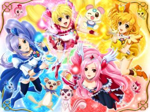 Rating: Safe Score: 20 Tags: aono_miki azukina chiffon_(precure) cleavage fresh_pretty_cure! higashi_setsuna momozono_love pantyhose pretty_cure sekken_kasu_barrier tarte_(fresh) thighhighs wallpaper yamabuki_inori User: blooregardo