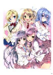 Rating: Safe Score: 28 Tags: kamiya_maneki relations._sister_x_sister. seifuku User: crim